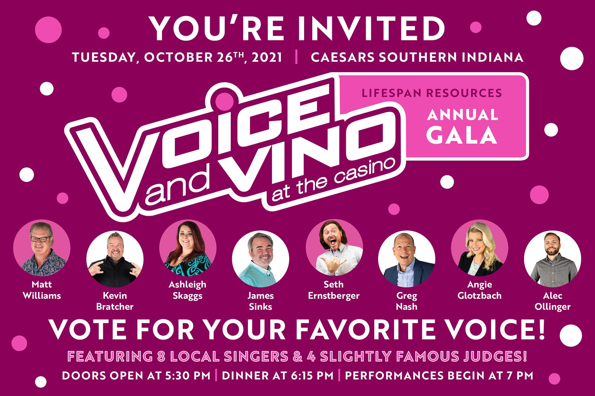 Voice and Vino Invite Web